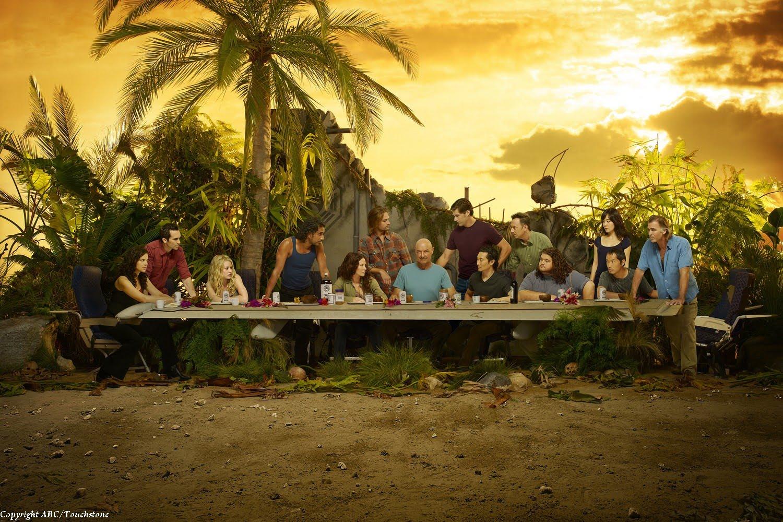 Lost season6 dinner