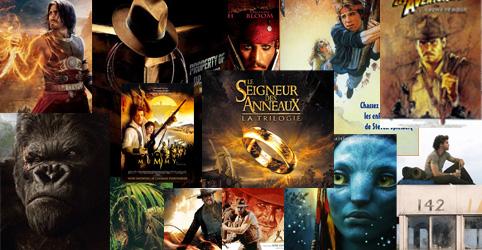 Top 10 films d'aventures myscreens