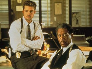 Seven Brad Pitt Morgan Freeman myscreens blog cinema