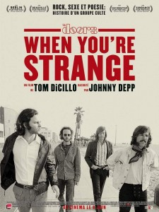 When you're Strange affiche the Doors critique blog cinema
