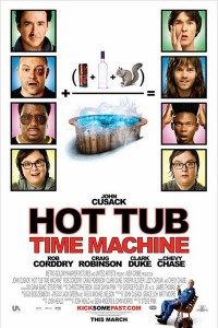 Hot Tub time machine affiche