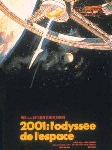 2001 Odyssée de l'espace affiche