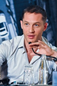 Inception pressconf Tom Hardy photo Filmgeek