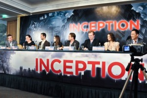 Inception Conference de presse photo Filmgeek
