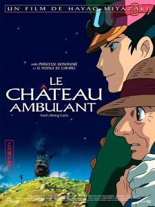 Le Château Ambulant, affiche, Hayao Miyazaki