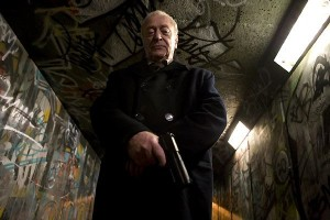 Harry Brown, Michael Caine