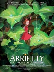 Arrietty le petit monde des chappardeurs affiche