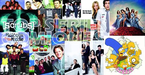 Top 10 - series TV comiques