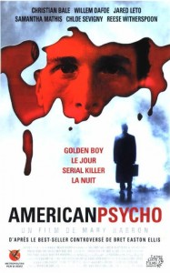 american psycho affiche
