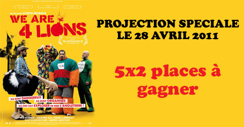 concours we are four lions
