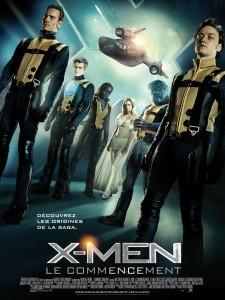 X-Men le commencement affiche