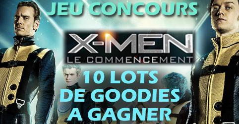 Concours X-men myscreens lots de goodies à gagner