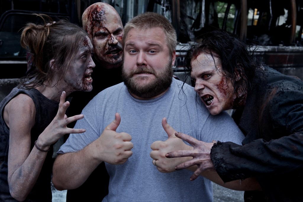 Kirkman with Zombies