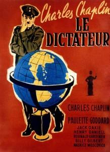 le dictateur affiche