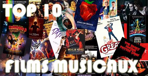 top 10 films musicaux