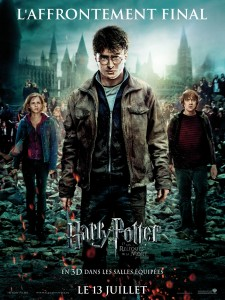 Harry Potter 7.2 affiche