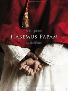 habemus papam affiche