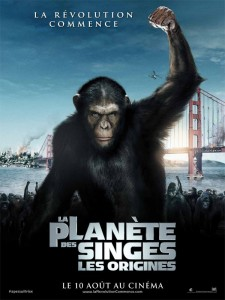 rise of the planet of the apes affiche