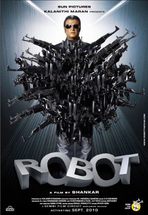 Endhiran Robot the movie