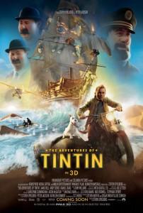 tintin affiche