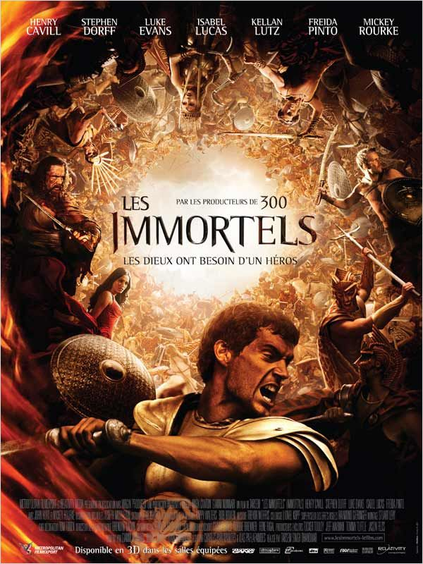 Les Immortels film streaming