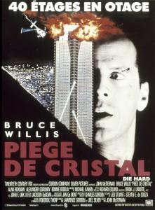 Piège de Cristal Die Hard 1 affiche