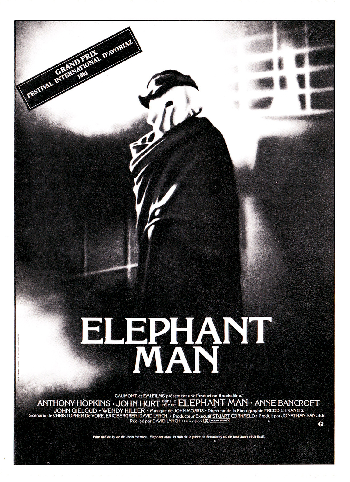 an analysis of the movie the elephant man C hand and the way the elephant man walks analysis 1 this shows / i believe that he possesses admirable character traits of kbat being an observant person and i wish i could be like him too so that i could be aware of my surrounding topic i also admire dr frederick treves because he is a curious person.
