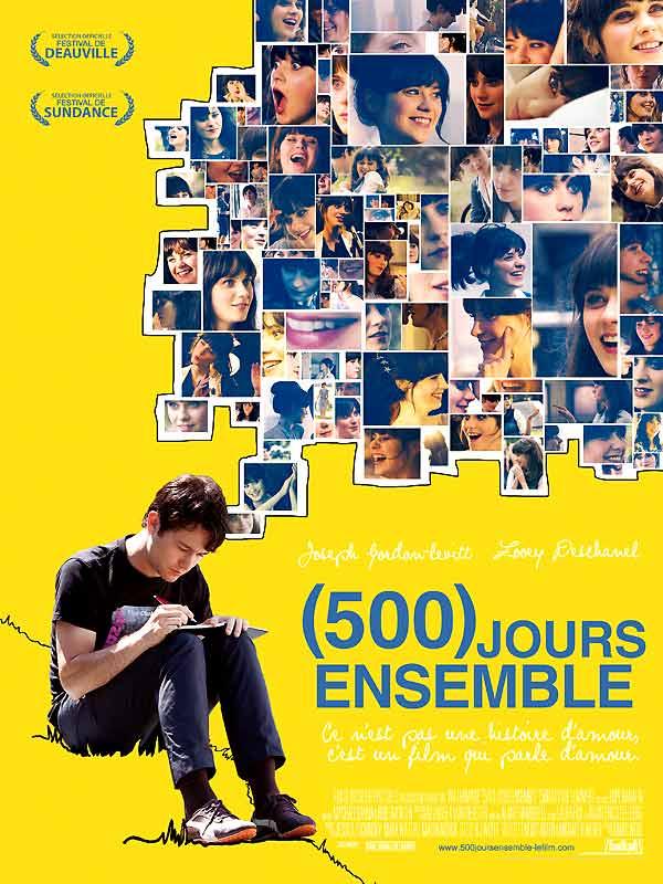 500 jours ensemble affiche