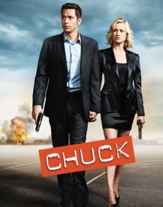 chuck saison 5 affiche