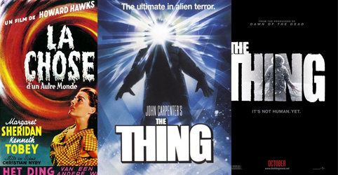 the thing vs the thing