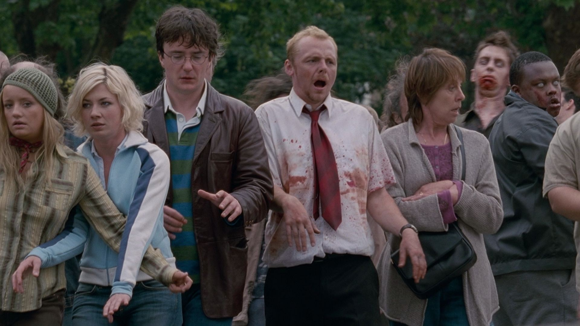 mise en scene shaun of the dead On the surface, the crew's cinematic trifecta — shaun of the dead, hot fuzz and  now the world's end — is about a zombie apocalypse,.