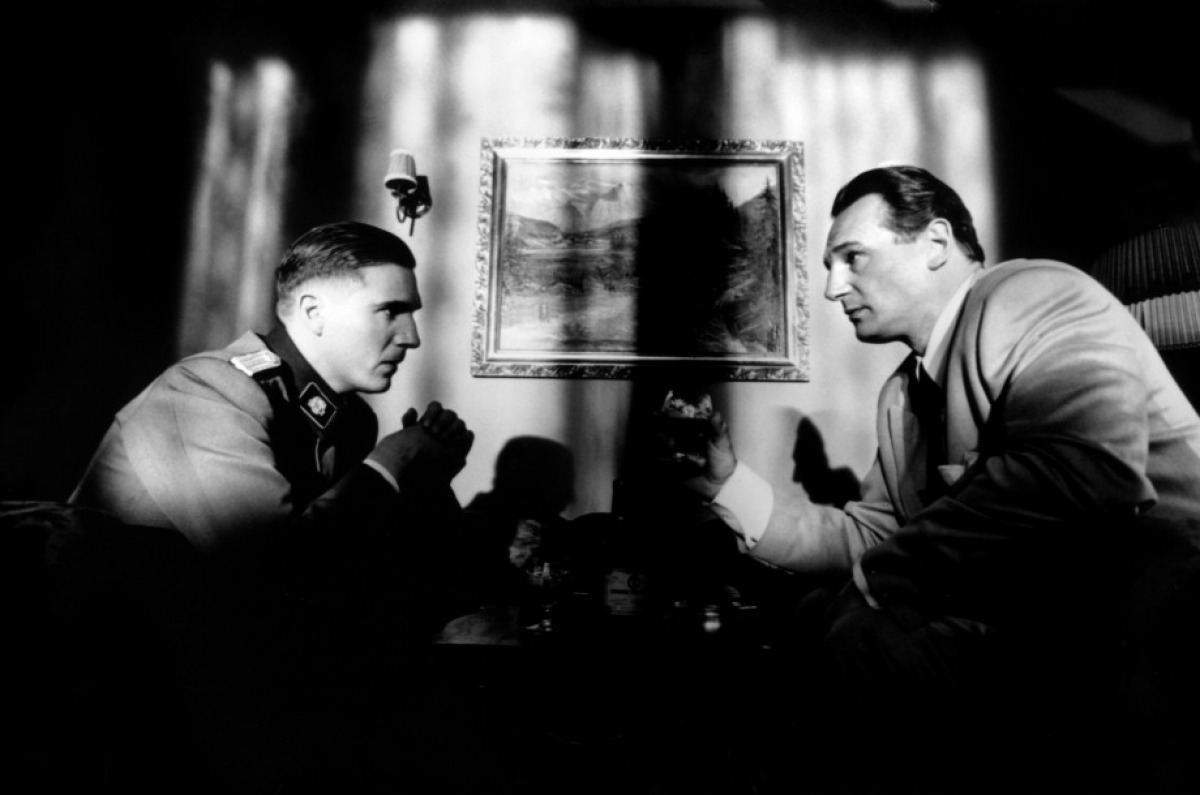 schindlers list: oskar schindler and amon goeth essay Free essay: schindler's list, directed by steven spielberg, stars liam neason,  ben  oskar schindler was a nazi businessman who saved hundreds of jews  from certain death  the untersbunfuier, amon goeth, was in charge of this  camp.