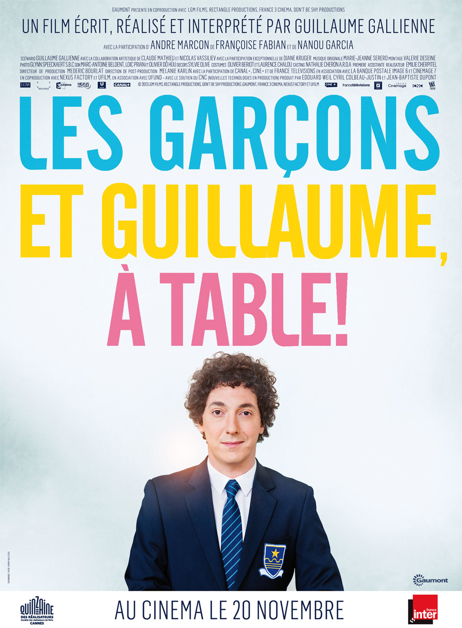 My screens les gar ons et guillaume table critique - Guillaume et les garcons a table trailer ...