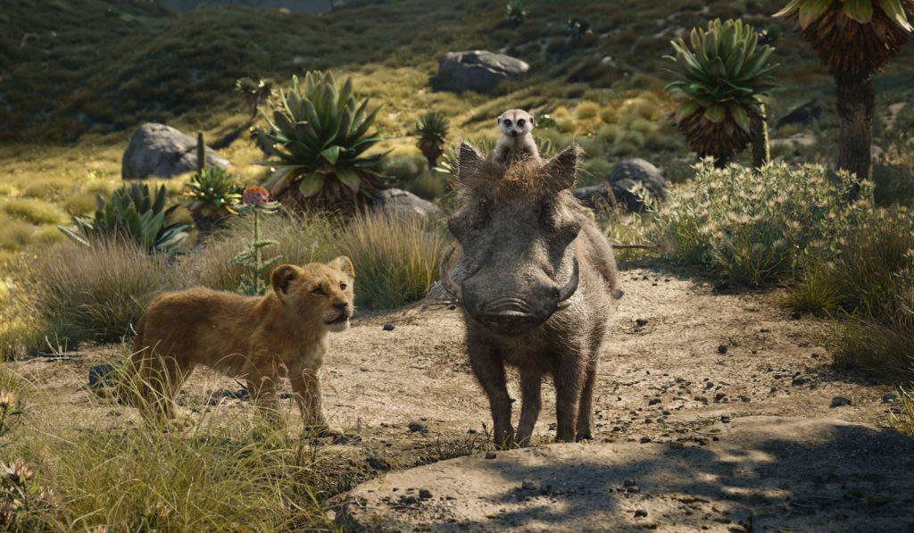 le roi lion simba timon pumba