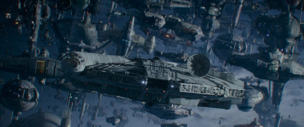 star wars ascension de skywalker millenium falcon